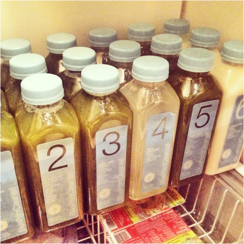 My Blue Print Cleanse Juice