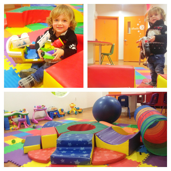 Miles Storm enjoying the Toddler Room at Klub for Kidz