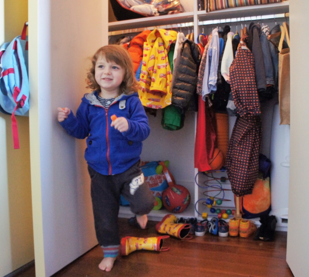 Miles Storm and his closet, how much of that still fits him?