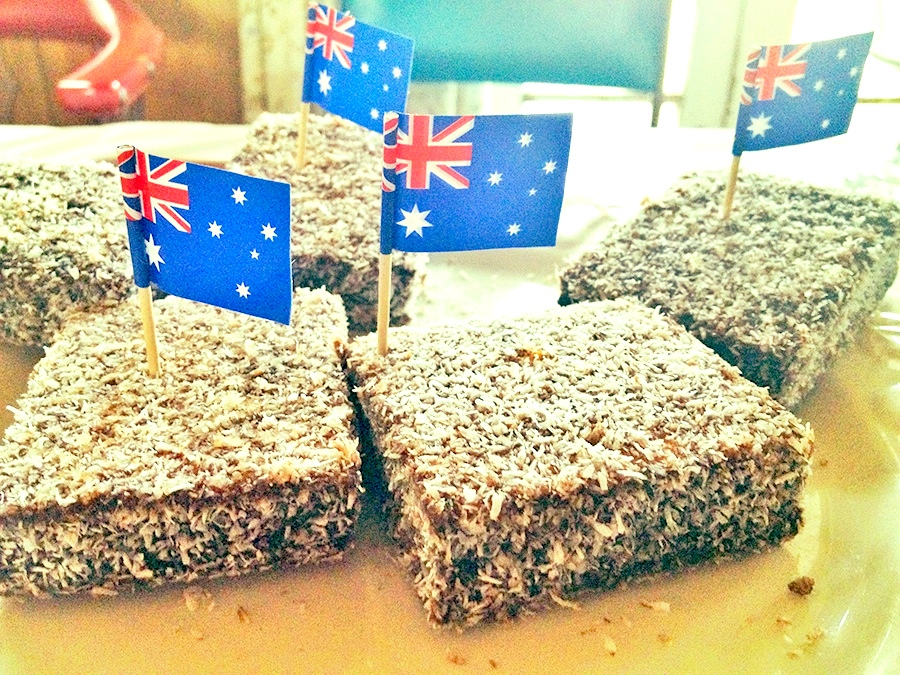 Lamingtons; a traditional Australian sweet as famous as vegemite
