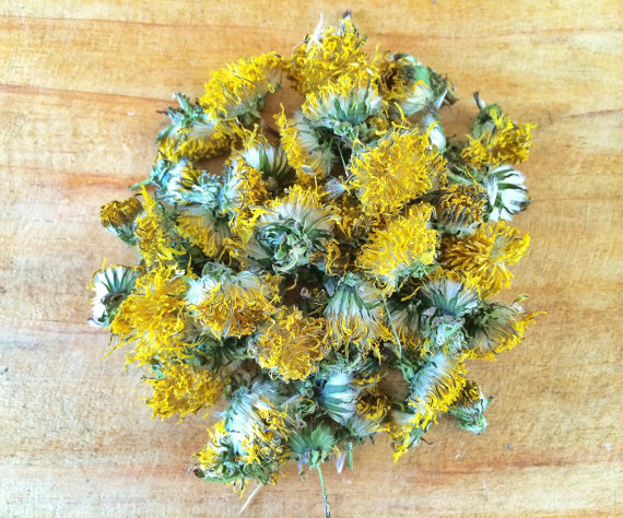 I dried these flowers in the sun & am actually selling them on my Etsy page HERE