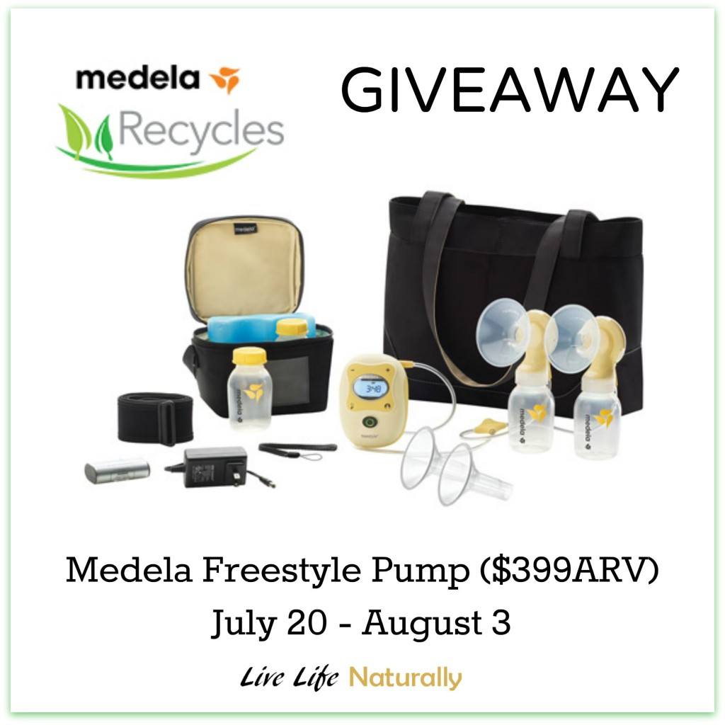 Medela Breast Pump Giveaway